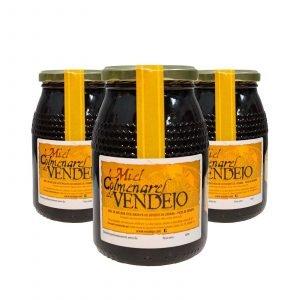 Miel Colmenares de Vendejo – Ahorro Pack de 3 kg de Miel de Liébana, Cantabria